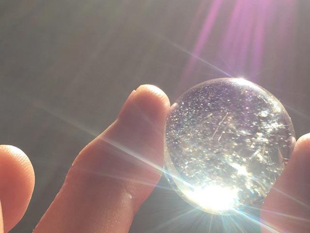 龍 光 虹 水晶