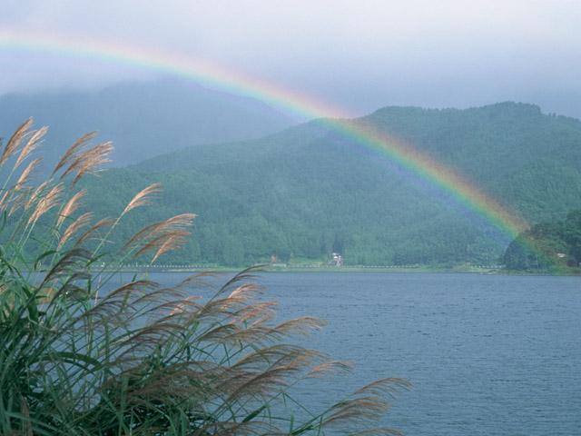 虹の龍は神の使い