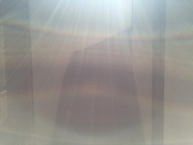 龍神さま虹と光