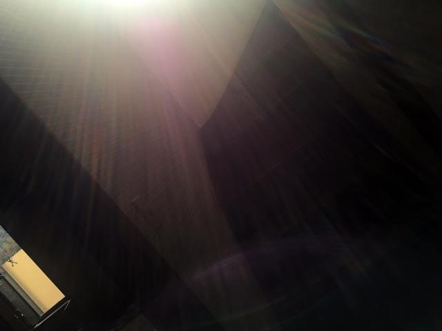 祈りの後 スーパームゲンになって帰ってきました