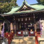 葛飾 熊野神社 安倍晴明