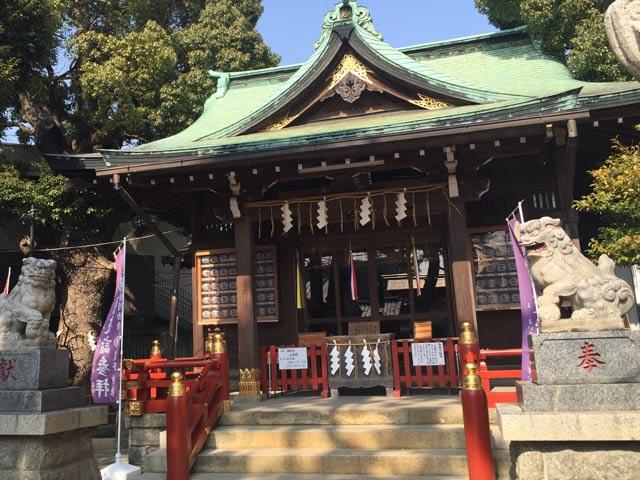 熊野神社へお礼参りに