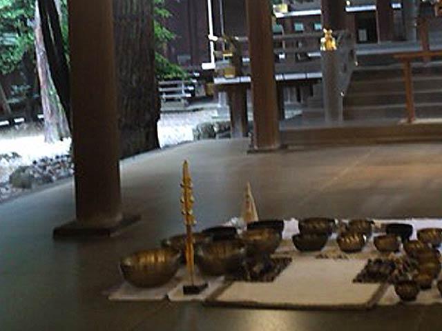 シンギングボウル 氷川神社