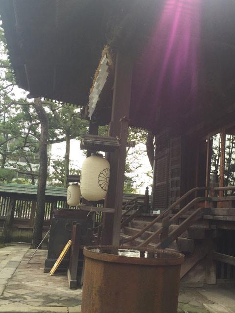 荏原神社とムゲン