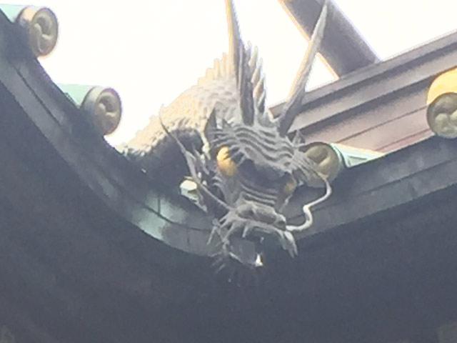 荏原神社 龍