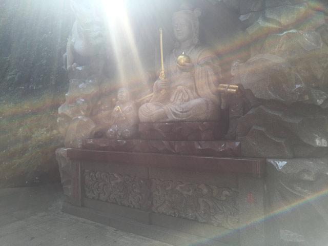 江の島神社と虹龍