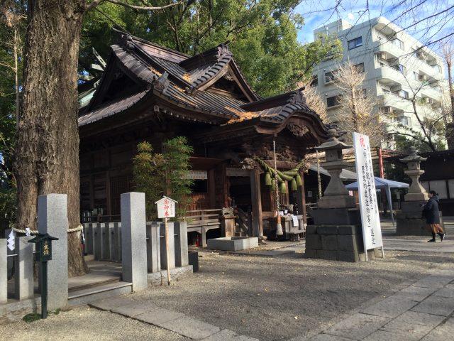 田無神社へ行って来ました