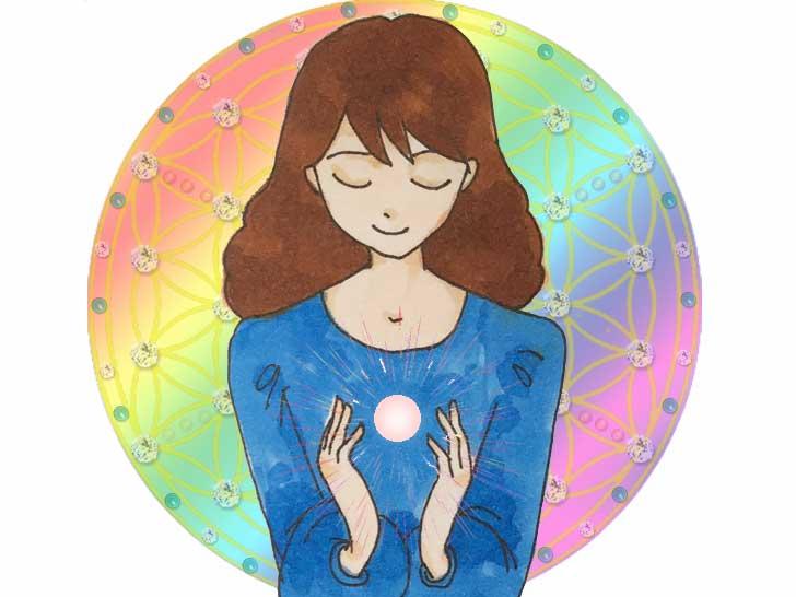 ありがとうございました。世界同時瞑想で愛を