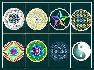 神聖幾何学タペストリー
