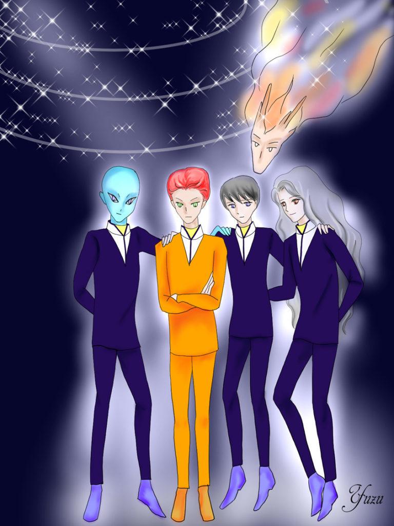 宇宙連合の仲間