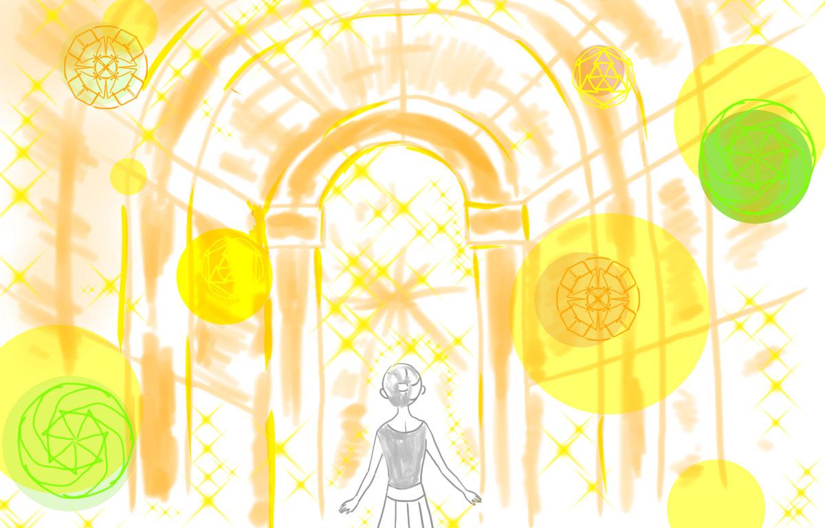 レイキサードと光の回廊