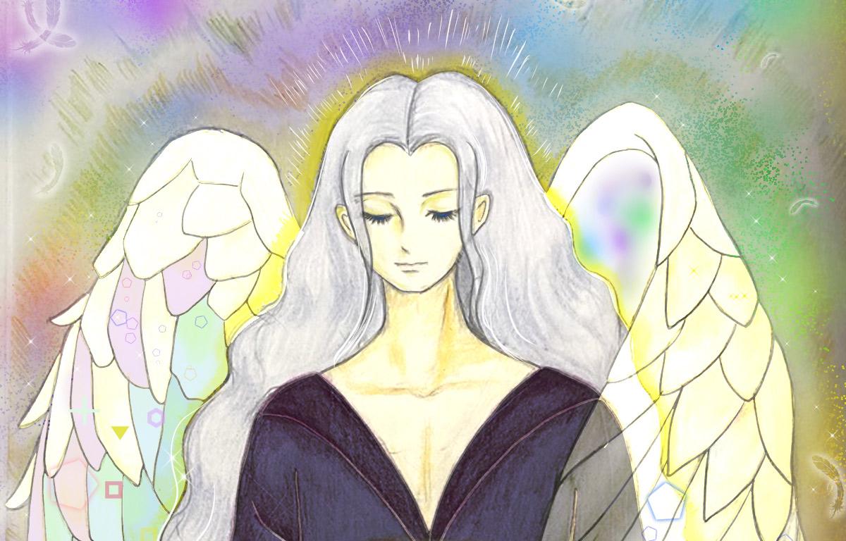 守護天使の絵の感想が届きました