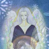 守護天使のイラスト
